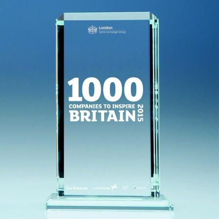 1000 Companies - plaque